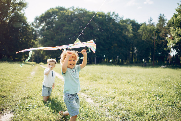 cute-little-child-summer-field-with-kite